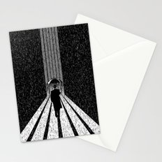 Winter's Long Road Stationery Cards