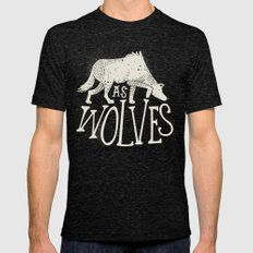 As Wolves Mens Fitted Tee Tri-Black SMALL