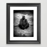 Gorilla Prime  Framed Art Print