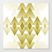 Golden Spirit Canvas Print