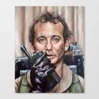 Bill Murray / Ghostbusters / Peter Venkman / Close-Up Canvas Print