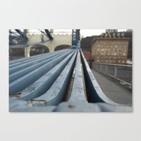 Bridged.  Canvas Print