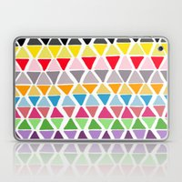 triangle pattern Laptop & iPad Skin