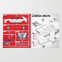 Lancia Delta History Mod… Rug