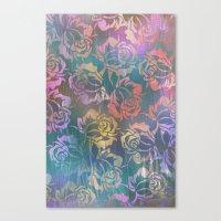Rose Pattern 3 Canvas Print