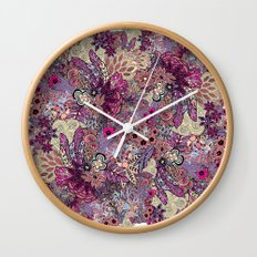 Vernal rising Wall Clock