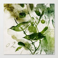 Birds (square 2) Canvas Print