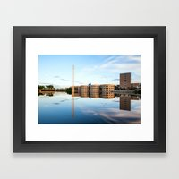 River River Reflection Framed Art Print