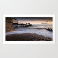 Cromer At High Tide Art Print