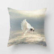 Free Falling Dream Throw Pillow