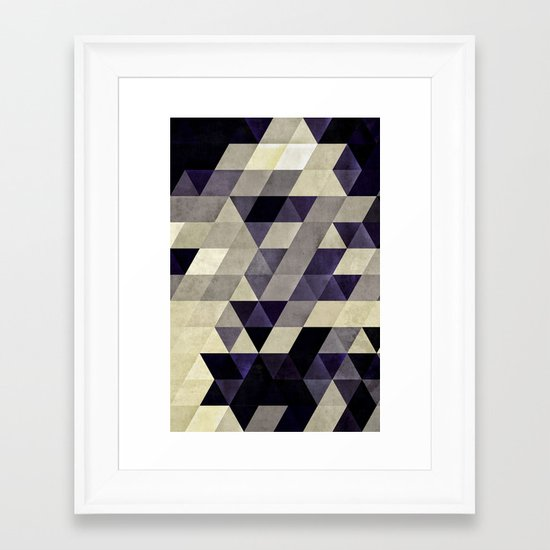 sykyk Framed Art Print