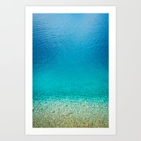 turquoise II. Art Print