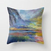 Islamorada Sunset Throw Pillow