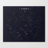 Constellations Canvas Print