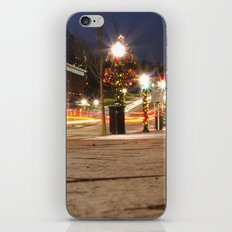 Downtown Blacksburg Christmas iPhone & iPod Skin