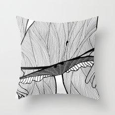la femme 08 Throw Pillow