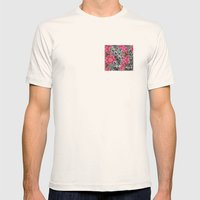 Geometric Spring Mens Fitted Tee Natural SMALL