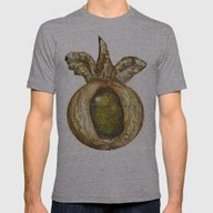 Eye Of Tree Mens Fitted Tee Athletic Grey SMALL
