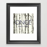 Once Upon A Time (OUAT) Framed Art Print