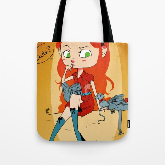 Doctor Mouse Tote Bag