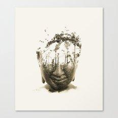 Buddha Series - Non-atta… Canvas Print