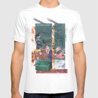Secret Identity Mens Fitted Tee White SMALL