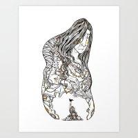 Grand Mother Art Print