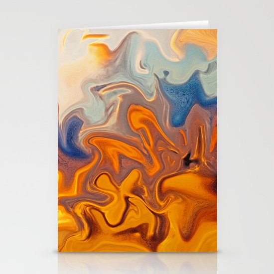 SKY ON FIRE Stationery Card