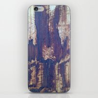telephone pole grain iPhone & iPod Skin
