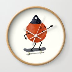 Skater Buoy Wall Clock
