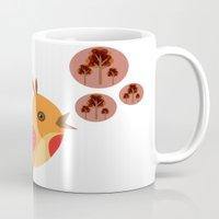 Talking Bird Mug