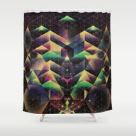 Shower Curtain featuring Thhyrrtyyn by Spires