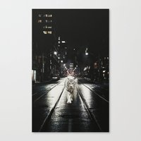 Night Watcher Canvas Print