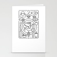 Food and Fashion Stationery Cards