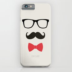 STAY CLASSY - MUSTACHE & BOW TIE  iPhone 6 Slim Case