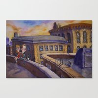 Dreamer's Dream Canvas Print