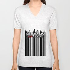 Humans Not For Sale Unisex V-Neck