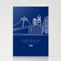 My City is Better Than Your City - Spokane, WA Stationery Cards