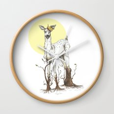Doe Tree Wall Clock