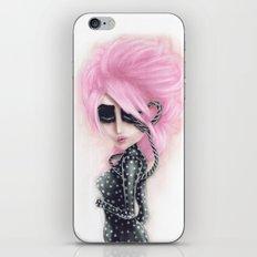 Pinkanhy Polka iPhone & iPod Skin