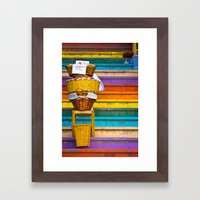 Stair Sales Framed Art Print