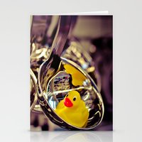 SPOON DUCK Stationery Cards