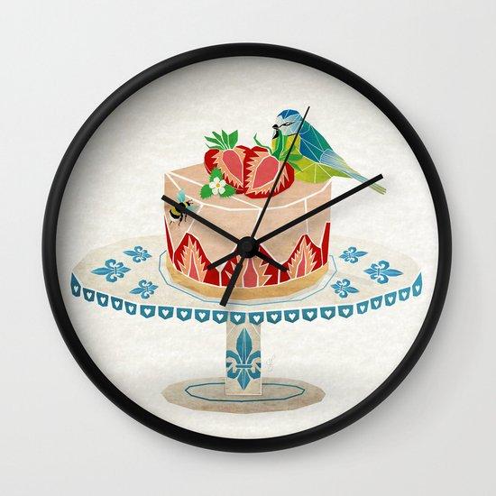 life is short, take a dessert  Wall Clock
