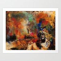 Untamed Passion Art Print