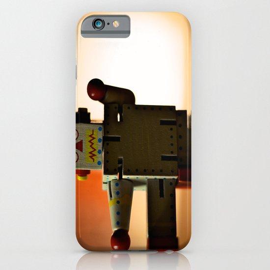 Kung Fu Robot iPhone & iPod Case