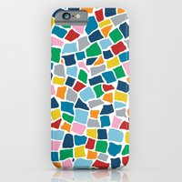 iPhone & iPod Case featuring British Mosaic Multi by Project M
