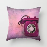CALLING FOR YOU Throw Pillow