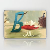Time For Tea With Letter… Laptop & iPad Skin
