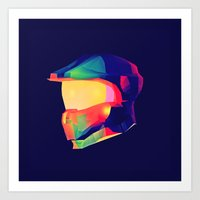Master Chief Art Print
