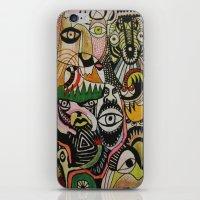 jungle boogie iPhone & iPod Skin